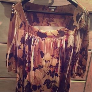 Gorgeous artsy shift dress - perfect for fall!